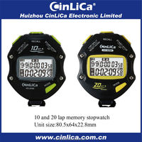 Digital stopwatch for sports