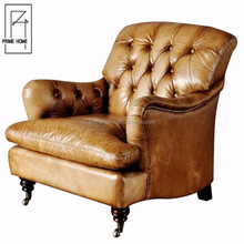 2018 Luxury Top Quality Leather Wooden Sex Sofa Chair