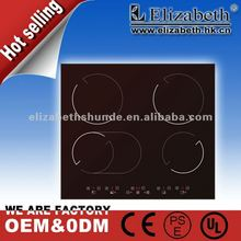 2012 new kitchen cooker 4 burner electric ceramic hob cooker/cooktop hot plate(CK-403)