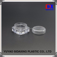 10ml ps recycled plastic cosmetic jars