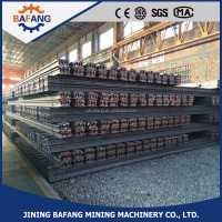 high quality UIC60 railway 115re steel rail track manufacturer/used steel rail track for sale