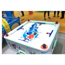 Lovely kids arcade air hockey table 4 players air hockey table+air hockey with coin operated