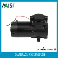 single head electric vacuum pump oil free air pump 24v dc motor