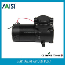 single head electric vacuum pump oil free air pump 24v dc motor