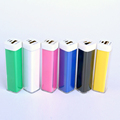 low price smart phone charger USB cable Fashionable Portable 2600mah Lipstick Slim Battery Power Bank hot selling