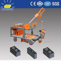 QMR4-45 manual egg laying brick making machine