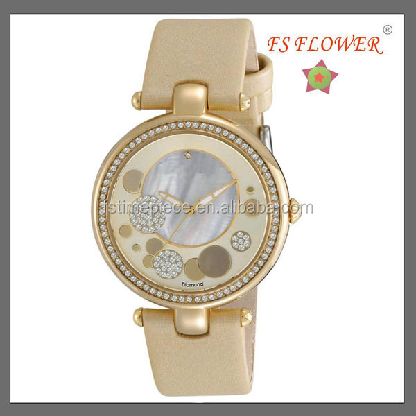 2014 Nice Fashion Gifts For Teenage Girls Fancy Japan Movt Quartz Watch Diamond Stainless Steel