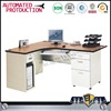 high quality wooden desk top metal frame work table