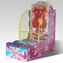 Hot Sale Booth Carnival Kids Ticket Arcade Gumball Pinball Machines Supplier Lottery Hungry Ball Basketball