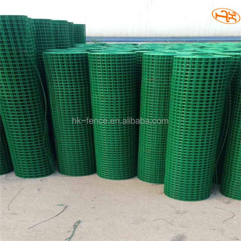 Green PVC Coated Welded Wire Mesh Netting