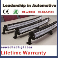 4*4 Jeep wrangler curved cree led light bar 300w 52inch offroad led light bar
