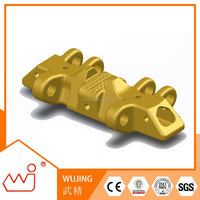 "Steel parts of a excavator track pad customized for brand size 53.15""(1350mm) track shoe"