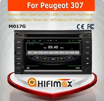 HIFIMAX Android 4.4.4 car dvd player for Peugeot 307 radio for citroen berlingo dvd player for citroen berlingo navigation