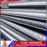 HRB 400 Reinforced concrete iron rods/Deformed steel bars for building and construction