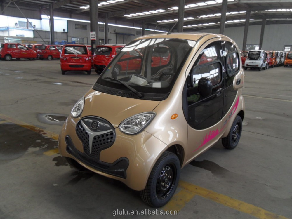 cheap electric car for 4 passenger/ fashional electric car with 4 seats