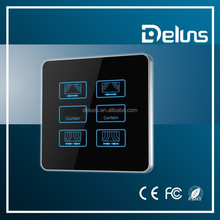 DLSC-6 DND touch switch for star hotel using, Able hotel touch switch