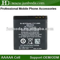 mobilephone battery cell phone batteries BL-6Q for nokia 6700c