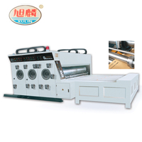 Corrugated rotary cardboard carton flexo slotting die cutting and printing machine