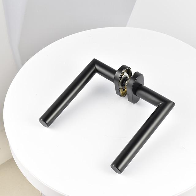 tube bar stainless steel 304  black door handles for steel doors
