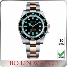 dive watch BGW9 super luminous, 40mm diving watch 1000m, 100atm watch divers