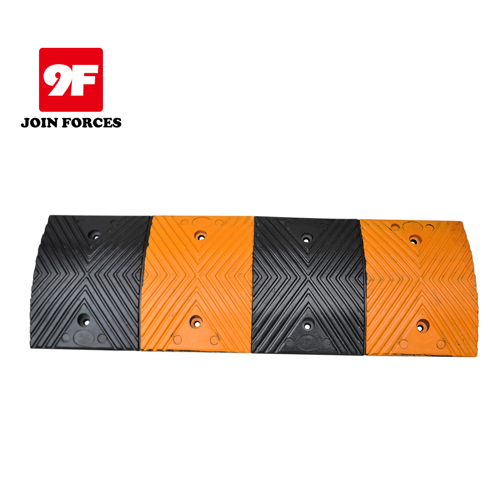 Factory outlets Road safety Rubber Speed Bump
