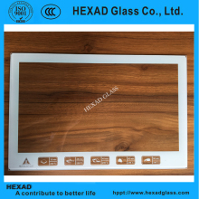 4mm 5mm clear float paint oven door tempered glass
