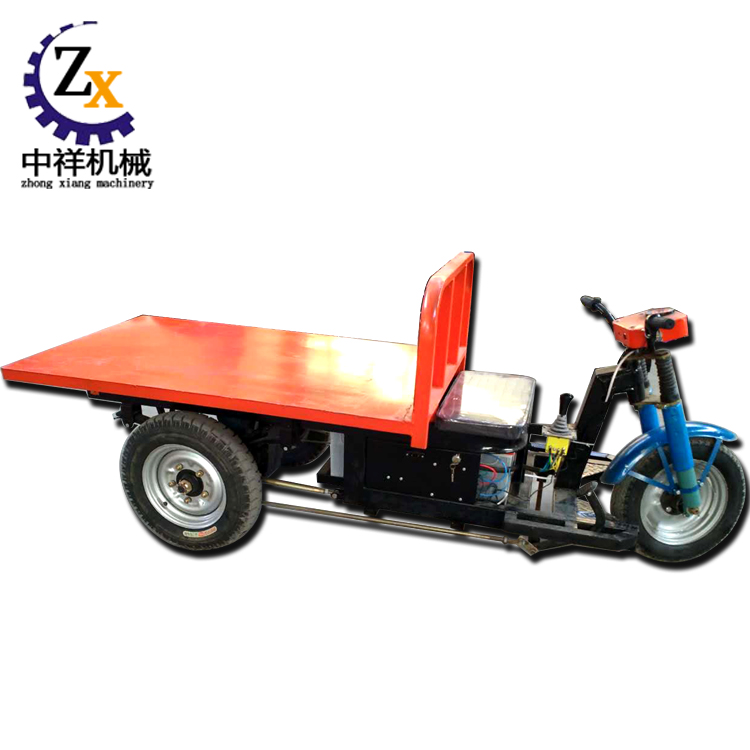 Commercial electric three wheels flat motor vehicle