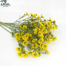 new design plastic dasiy flower single stem cheap artificial daisy flowers