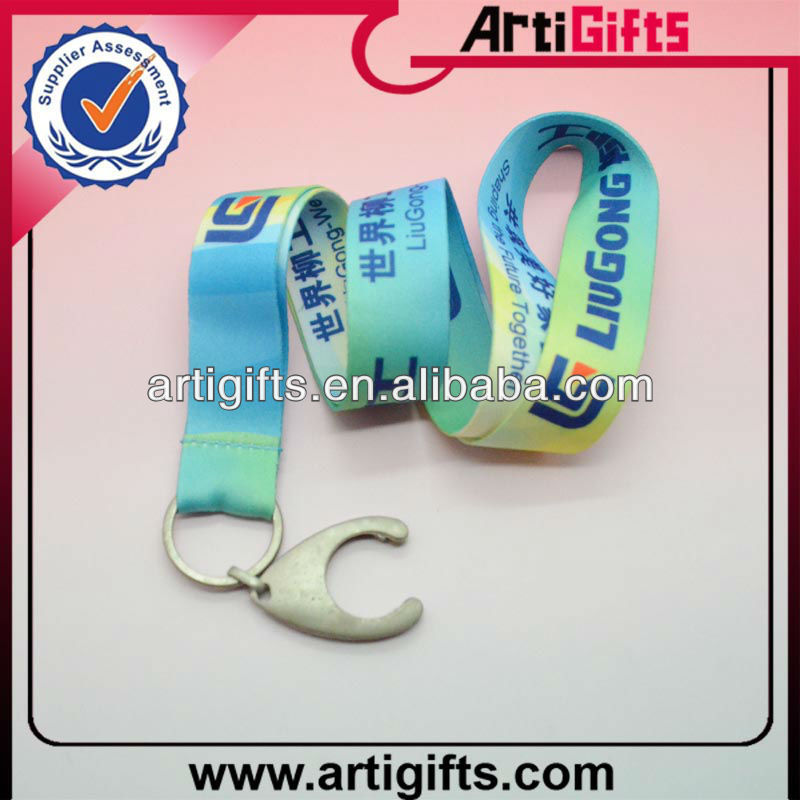2013 Custom printed camouflage lanyards with coin holder