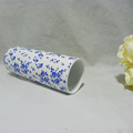 for home decoration blue and white vase flower