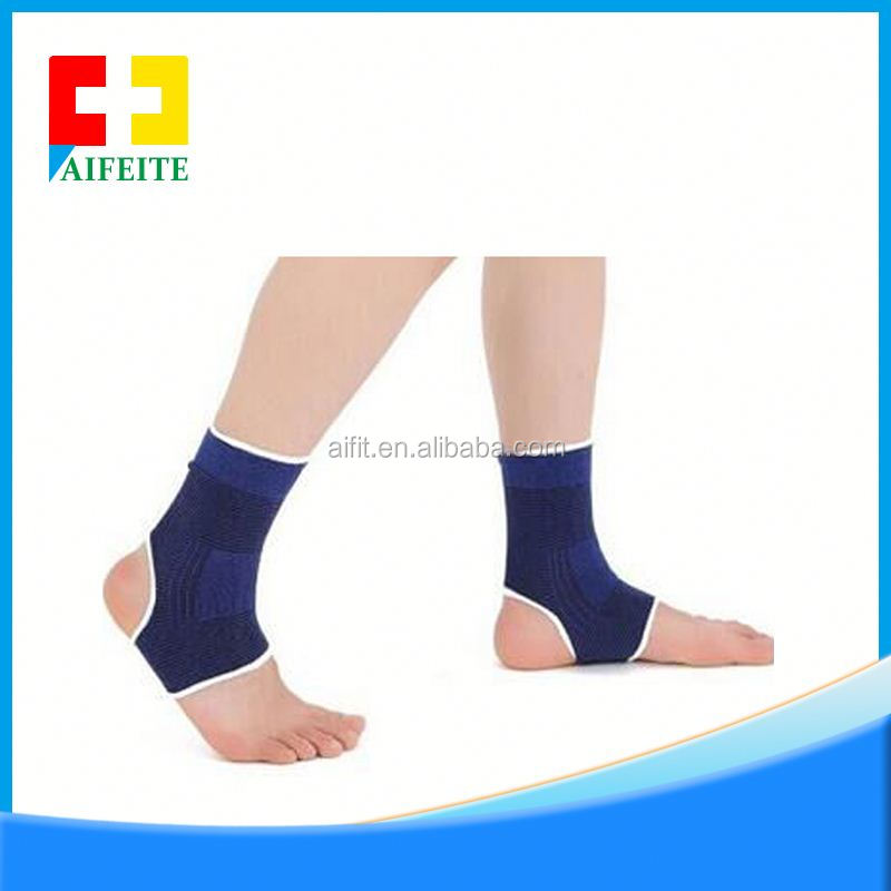 Guaranteed Recovery Sleeve, Compression Fit Ankle Support, copper nylon ankle sleeve