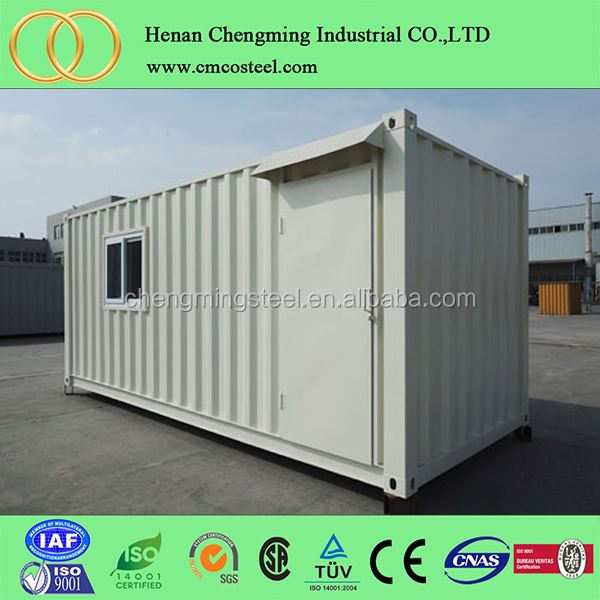 one bedroom container house 20ft of cheap prefab residential container house