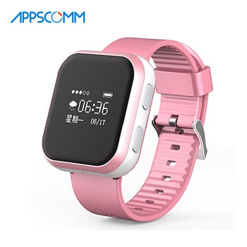 2017 APPSCOMM Smart Watch Bluetooth GPS Positioning Kids Safety Tracker with Phone Calling for Android or IOS Phones