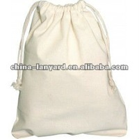 Eco Cotton Canvas Drawstring Bags