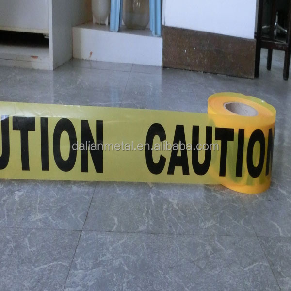 PE Woven fabric traffic barrier tape, caution tape, warning tape supplier
