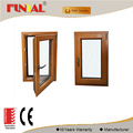 China supplier thermal break energy saving aluminum frame glass window