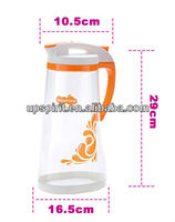 2L Big Size Plastic Water Container , Three Colors Fashion Kettle Pitcher