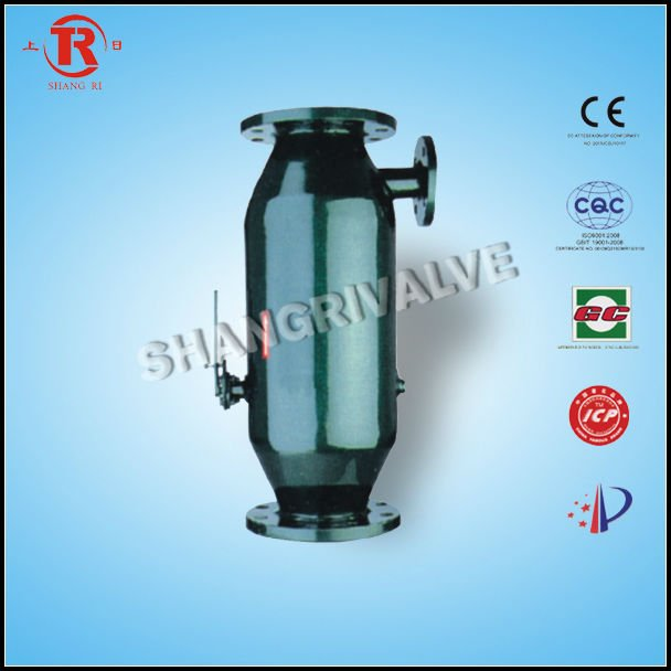 Automatic blowdown strainer