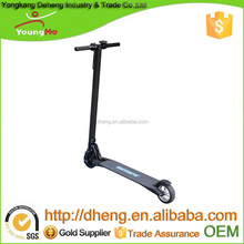 10.4Ah Battery/Max Loading 125KG/ Electric Scooter with Carbon Fiber Material