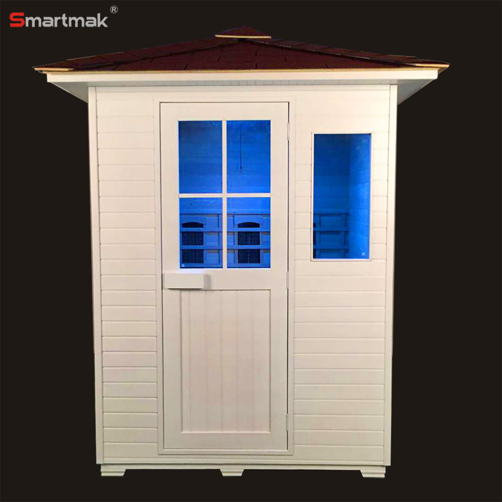 Fashion outdoor sauna house for dry steam