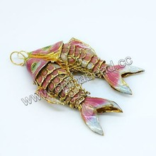 Hot sale cloisonne jewelry charm, boy charm gift charms and pendants