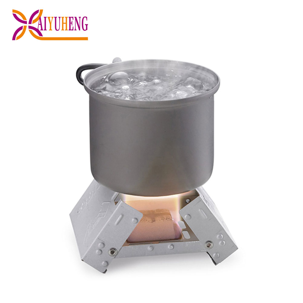 outdoor picnic stove foldable pocket stove camping pellet stove cheap