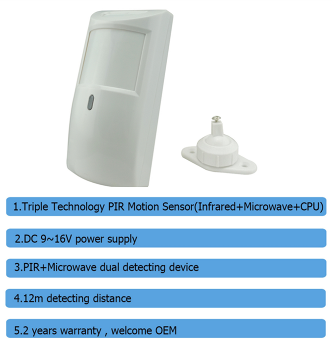 What S The Features Of Our Infrared Microwave Cpu Pir Motion Sensor