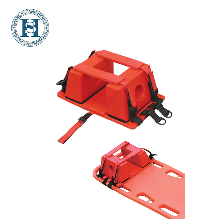 HS-L004A Spine board head immobilizer