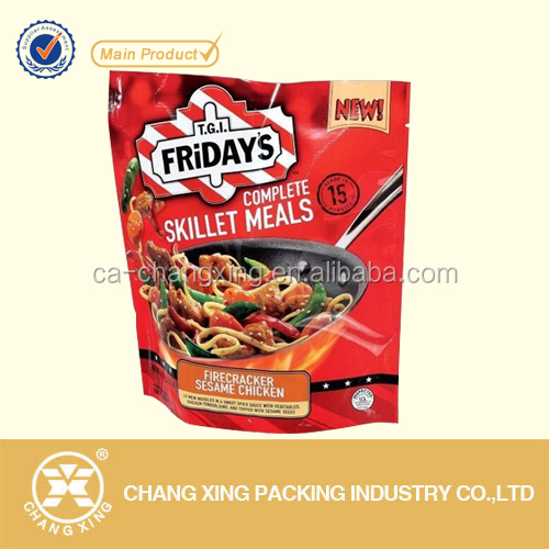 food packaging bag for roast meat packaging/roast chicken packing bag