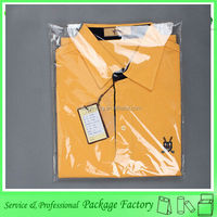 Transparent cheap opp package bag for clothes