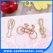 Metal material and Yes shaped paper clip metal paper fasteners