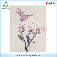 Colored Drawing Scence Leather Case For ipad Mini 1 2 3 / Stand Fold Folio Leather Cover Case For iPad Air