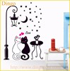 Home decor and newest adhesive hot vinyl wall sticker