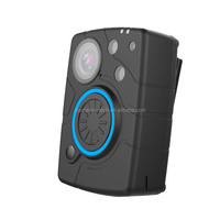 Built-in WiFi 2080P security guard body worn camera with auto infrared LED and big recording button
